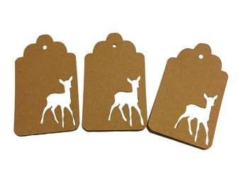 Deer - Rain Deer Gift Tags