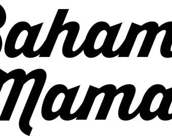 Bahama Mama Unfinished wood sign for Wendie