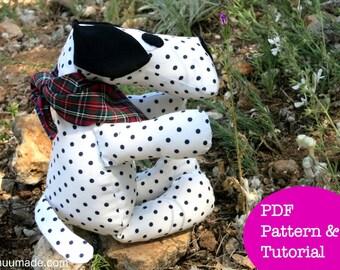 Dog Sewing Pattern, Stuffed Animal Pattern, Puppy, Dalmatian, Beagle, German Shepherd, Handmade Gift for Children Boy Girl, Decor, Soft Toy