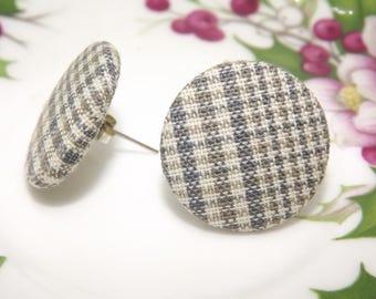 Orecchini a lobo/ Orecchini bottone/ Small earrings/ Button earrings/ Orecchini vintage