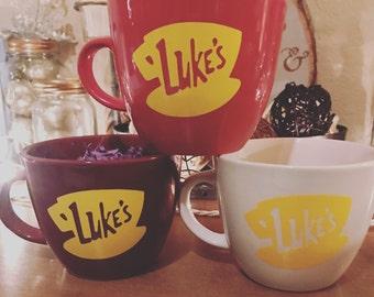 Luke's Diner Inspired Coffee Mug