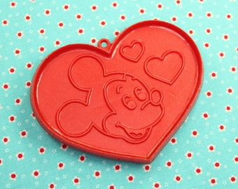 Mickey Mouse Heart Hallmark 1980 Valentine Cookie Cutter