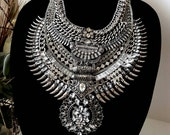 XIGYN-Handcrafted-Stacklace-Stacked-Statement-Necklace-Warrior-Choker