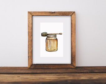 Honey Painting, Bee Keeper, Bee Gift, Bee Keeper Gift, Hives, Bee Hives, Bumble Bee