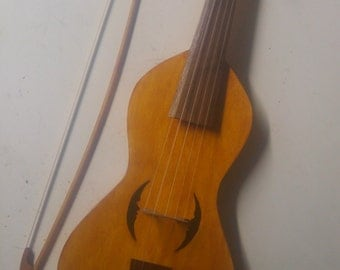 Tenor Medieval fiddle or Vielle.