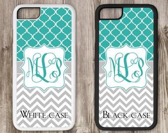 Monogram iPhone Case, Personalized Phone Case, Monogram Case, Design Your Own Case, iPhone Tough Case, iPhone 4 4s 5 5s 5c 6 6s 6s+ 7 7+