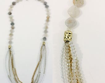 Multi Strand Bib Necklace