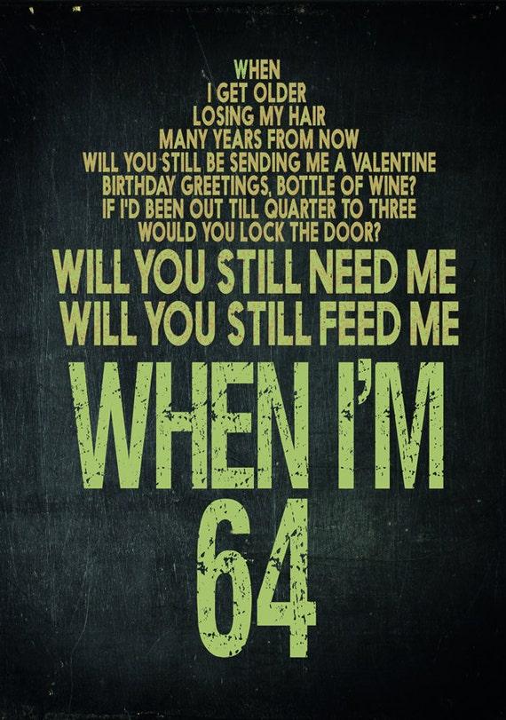 when im 64