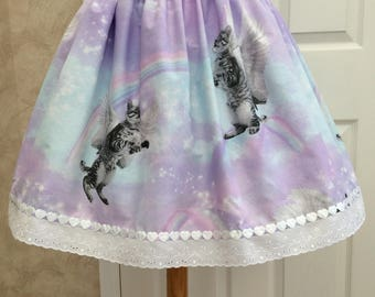 Unicorn Cats Lolita Skirt