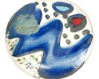 Sandy Brown, Contemporary Studio Pottery Plate