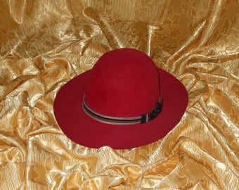 Genuine vintage Gianni Versace by Borsalino hat - made in Italy