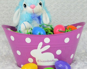 Blue Bunny Stuffy - Easter Gift - Personalized Gift - Easter Bunny