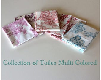 Sale-Toile de Jouy Collection Multi-Colored