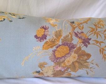 Kravet Couture Summer Palace Lampas Pillow Scalamandre Italian Pisanello Gold Silk Velvet Back, Multiple Sizes!