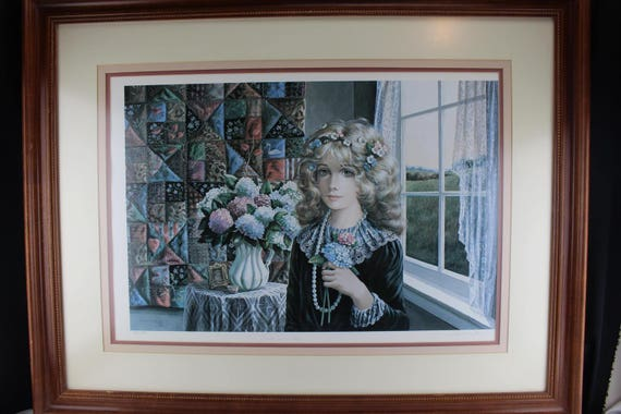 "Fine Art Print Pati Bannister ""Pride And Joy"" Limited Number Signed Portrait"