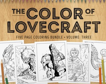 The Colouring Book Out Of Space A Lovecraft Inspired Adult