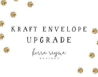 Kraft Envelope Upgrade