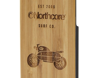 Northcore iPhone 6 Bamboo Case: Motorbike