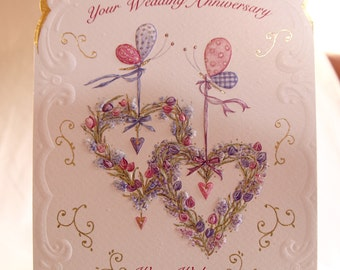 To Both of You on Your Wedding Anniversary Card