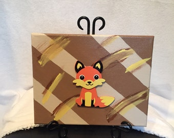 Cute Fox Canvas