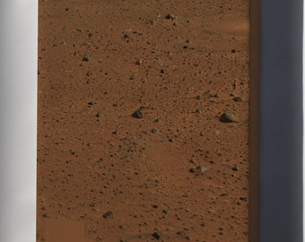 Canvas 24x36; Mars From Spirit Rover
