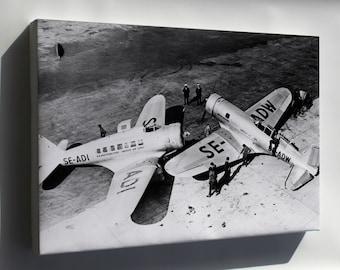 Canvas 24x36; Northrop Delta And Gamma, 1934