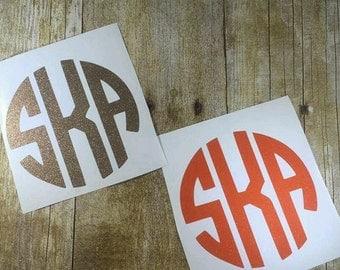 Vinyl Decals Bulk Monogram Decals Wedding Gift Bag Yeti - Custom vinyl decals bulk