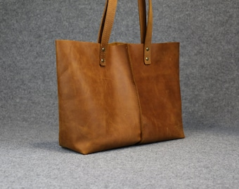 20%OFF,leather tote bag ,soft leather bag,handmade leather bag ,tote bag ,large leather bag,waxed leather