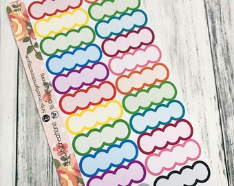 Bubble Tab Stickers