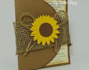Rustic Wedding Invitation, Vintage Wedding Invitation, Wedding Invitations, old paper wedding invitation, aged effect invitation, Burlap