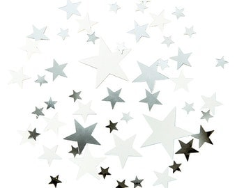 Silver Star Scatter - Christmas Gold Star Scatter