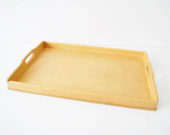 serve old tray wood bright, Serviertablett, Servierbrett, tea Board,