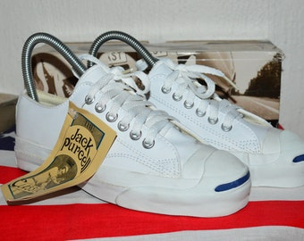 Converse Jack Purcell vintage rare leather deadstock og made in usa 3 nwb