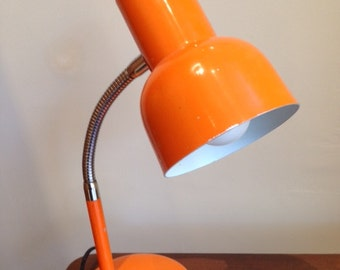 small lamp casserole orange