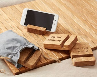 Personalized Wood Phone Stand, Wood Phone Stand,Phone holder, Life-long Gifts,Special Gifts, Anniversary Gifts