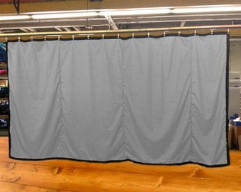Special Color Stage Curtain/Backdrop/Partition, 10'H x 20'W, Non-FR, Free Shipping, Custom Sizes Available!