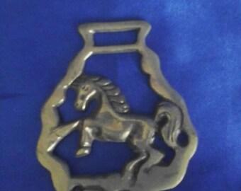 Horsebrass Rearing Horse Horse Brass (B)
