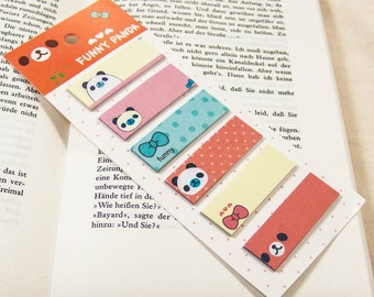Haftmarker Panda / Filofaxing / sticky note