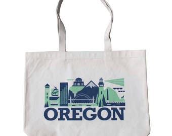 Oregon Tote - City Living Oregon Design