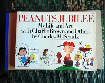 Peanuts Jubilee. My Life and Art with Charlie Brown and Others. by Charles M. Schulz. 1976 Softcover.