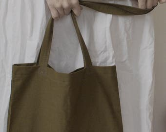 """Tote bag for shopping (bag shopper) from tarpaulin (awning fabric, canvas) """"Eternal thing"""", 100% cotton, handmade, eco-bag"""