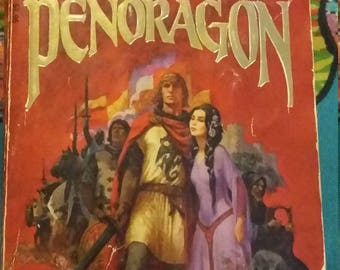 The Pendragon by Catherine Christian. Warnr Books Edition. First Printing December 1980