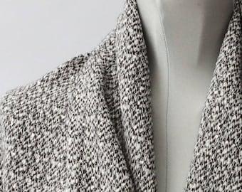 Swiss Cotton + Wool woven
