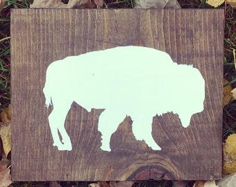 Buffalo Decal