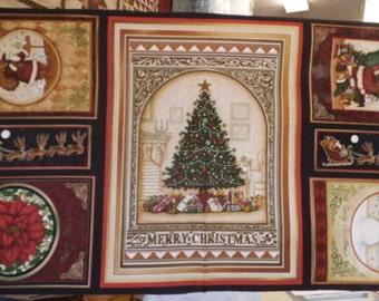 """Christmas Panel - Christmas Elegance - 24"""" panel"""
