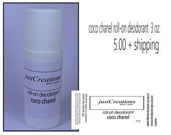 coco chanel roll-on deodorant