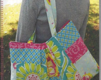 Brooke Shoulder Bag & Shopper pattern - Marie-Madeline Studio