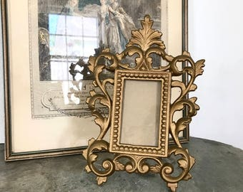 Metal Frame JM iron French style vintage picture frame home decor