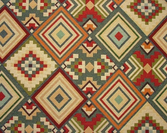 Tapestry Kilim Luxury Designer Fabric Ideal For Upholstery Curtains Cushions Throws