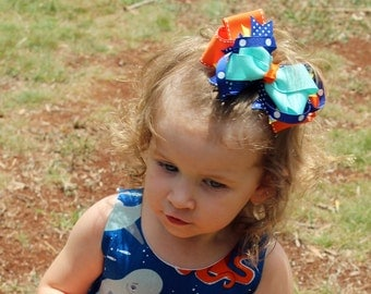 Add a matching Boutique Hairbow, Headband, Baby Band, Knotted headband